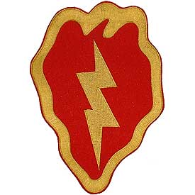 25th Infantry Division Medium Army Patch - HATNPATCH