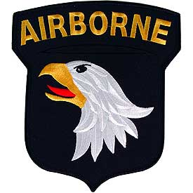 101st Airborne Division Medium Army Patch - HATNPATCH