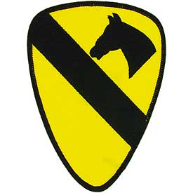 1st Cavalry Division Medium Army Patch - HATNPATCH