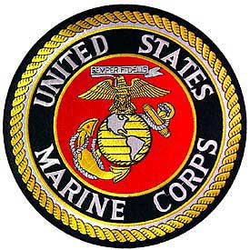 Large Original Style US Marine Corps Seal Patch