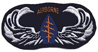5TH SF WINGS PATCH