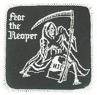 FEAR THE REAPER - HATNPATCH