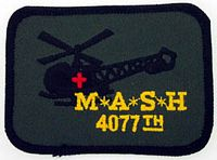 MASH 4077TH PATCH - HATNPATCH