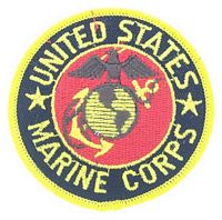 MARINE CORPS SEAL PATCH