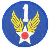 1ST AIR FORCE PATCH - HATNPATCH