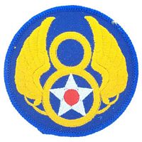 8TH AIR FORCE PATCH - HATNPATCH