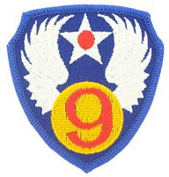 9TH AIR FORCE PATCH - HATNPATCH