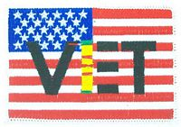 VIET VET FLAG PATCH