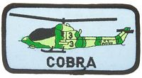 AH-1 COBRA PATCH - HATNPATCH