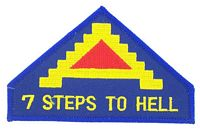 7TH ARMY PATCH - HATNPATCH