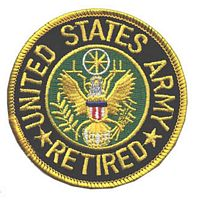 ARMY RETIRED PATCH