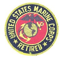 USMC RETIRED PATCH