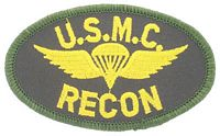 USMC RECON PATCH