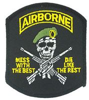 AIRBORNE MESS/BEST PATCH - HATNPATCH