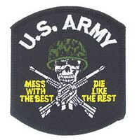 US ARMY MESS/BEST PATCH