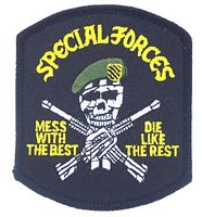 SPECIAL FORCES MESS/BEST PATCH