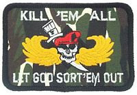 KILL 'EM ALL... PATCH - HATNPATCH