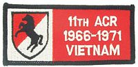 11TH ACR VIETNAM PATCH