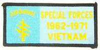 SPEC FORCES VIETNAM PATCH