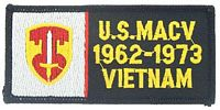 US MACV VIETNAM PATCH - HATNPATCH