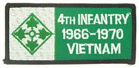 4TH INF VIETNAM PATCH