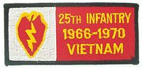 25TH INF VIETNAM PATCH