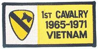 1ST CAV VIETNAM PATCH