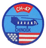 CH47 CHINOOK PATCH
