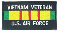 VIETNAM VET US AIR FORCE PATCH