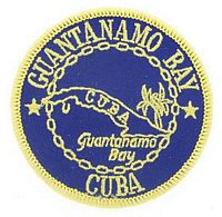 GUANTANAMO BAY PATCH
