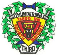 3RD BN 4TH MARINE PATCH - HATNPATCH