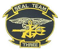 SEAL TEAM 3 PATCH - HATNPATCH