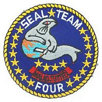 SEAL TEAM 4 PATCH - HATNPATCH