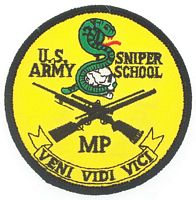 USA SNIPER PATCH