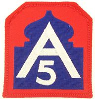5TH ARMY PATCH - HATNPATCH