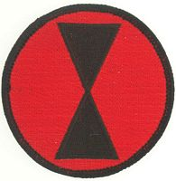 7TH INF DIV PATCH