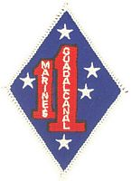 1ST MAR REGT PATCH