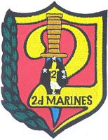 2ND MAR REGT PATCH