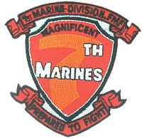 7TH MAR REGT PATCH