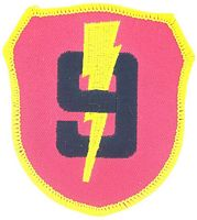 9TH MAR REGT PATCH - HATNPATCH