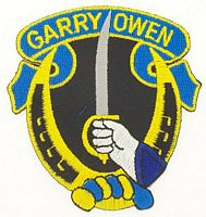7th CAV - GARRY OWEN PATCH