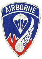 187TH AIRBORNE PATCH