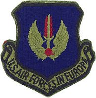 USAF IN EUROPE PATCH