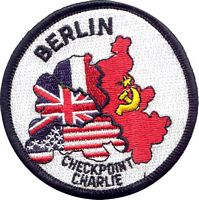 BERLIN CHECKPOINT CHARLIE PATCH