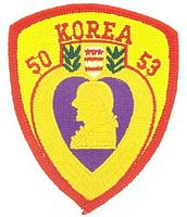 KOREA PURPLE HEART PATCH