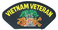 VIETNAM VET DRAGON PATCH
