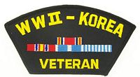 WWII/KOREA VET PATCH