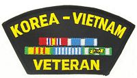 KOREA/VIETNAM VET PATCH