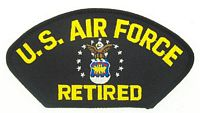 USAF RETIRED PATCH
