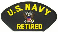 USN RETIRED PATCH